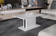 NINA dzięki prostej formie to ława doskonale pasująca do nowoczesnego wystroju salonu. Masywny, pogrubiony blat wsparty jest na solidnej podstawie...