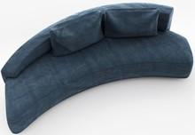 Sofa MOON  Modernistyczna, niezwykle komfortowa sofa Moon idealnie wpisuje się w industrialne wnętrza w których panuje wszechobecny minimalizm. Dzięki...