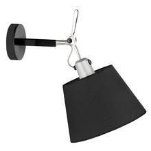 Lampa wykonana jest z metalu.<br />Abażur z materiału.<br />Źródło światła: E 27<br />Waga netto 1 szt.: 3<br />Waga...