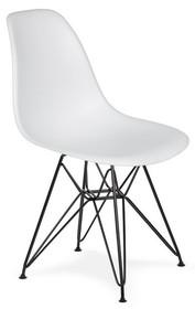 Krzesło DSR BLACK - biały