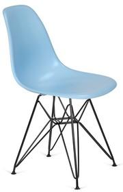 Krzesło DSR BLACK - błękitny