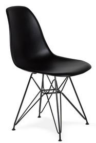 Krzesło DSR BLACK - czarny