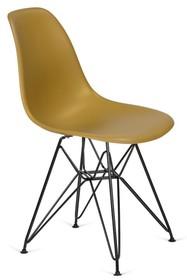 Krzesło DSR BLACK - imbirowy
