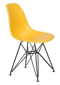 Krzesło DSR BLACK - kanarkowy