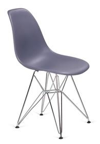 Krzesło DSR SILVER - ciemny szary
