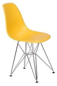 Krzesło DSR SILVER - kanarkowy