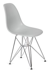 Krzesło DSR SILVER - platynowy