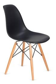 Krzesło DSW WOOD - antracytowy