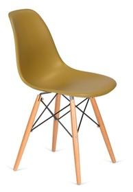 Krzesło DSW WOOD - imbirowy