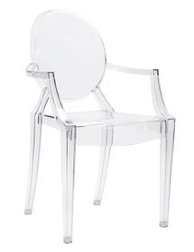 Krzesło LOUIS poliwęglan - transparentny