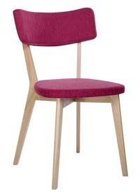 Krzesło SCANDI - amarantowy