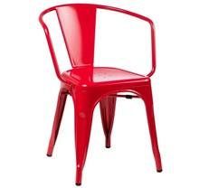 Krzesło TOWER ARM - czerwony