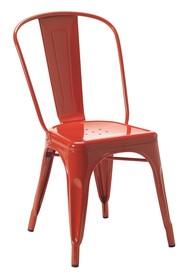 Krzesło TOWER czerwone - metal