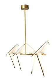 Konstrukcja lampy wykonana z metalu,<br />klosze z polipropylenu.<br />Źródło światła: LED<br />Maksymalna ilość szt. w...