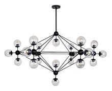 Lampa Planetario 21.<br />Konstrukcja lampy wykonana została z metalu w kolorze czarnym matowym.<br />Całość dopełnia 21 okrągłych...