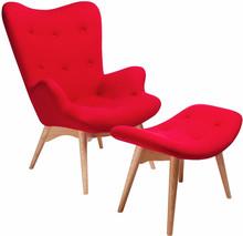 Contour to świetna propozycja dla osób ceniących sobie klasyczny wygląd oraz komfort wypoczynku. Fotel wraz z podnóżkiem osadzone zostały na...