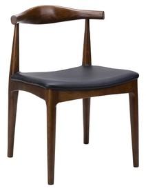 Krzesło ELBOW - jesion ciemnobrązowy