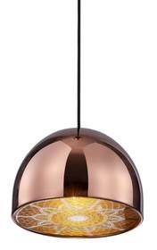 Lampa wykonana z metalu i stali nierdzewnej.<br />Źródło światła: 1xE27 40W<br />Maksymalna ilość szt. w opakowaniu: 1<br...