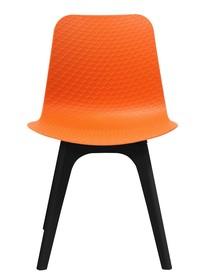 Krzesło KRADO DSX PREMIUM pomarańczowe - polipropylen
