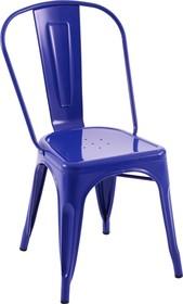 Krzesło TOWER ciemny niebieski - metal
