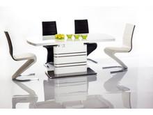 Stół rozkładany GUCCI 140x85 - biały