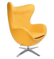 Fotel EGG SZEROKI kształtem nawiązuje do jednego z najbardziej znanych projektów.<br />Fotel tapicerowany jest Wełną kaszmirową.<br...