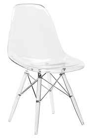 Krzesło DSP ICE - transparentny
