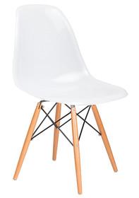 Krzesło DSW GLOSS - biały