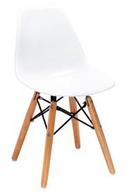 Krzesło dziecięce JUNIOR DSW PREMIUM - biały