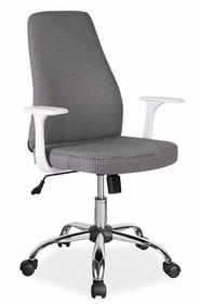 Wymiary:  - wysokość całkowita: 97-107 cm - wysokość siedziska: 44-54 cm - szerokość: 63 cm - głębokość: 46 cm  Materiały:  - tapicerka:...