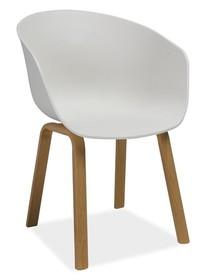 Wymiary:  - wysokość: 79 cm - szerokość: 58 cm - głębokość: 39 cm  Materiały:  - siedzisko: polipropylen - podstawa: metal  Zastosowanie: ...