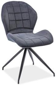 Krzesło HALS II - grafitowy