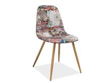 Krzesło CITI mapa - wielobarwny