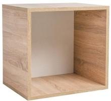 Półka do kolekcji Rubik, element z tylną ścianką. Wymiary:  - wysokość: 44 cm - szerokość: 46 cm - głębokość: 35 cm  Materiały:  - płyta...