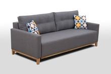 Sofa Ariel w skandynawskim stylu idealnie sprawdzi się w nowoczesnych wnętrzach. Sofa charakteryzuje się prostą formą, posiada pojemnik na pościel oraz...