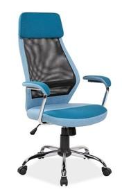 Fotel obrotowy Q-336 - niebieski