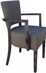 Krzesło Paris Bis to prosta forma z eleganckim wykończeniem i podłokietnikami. Na uwagę zasługuje grube i masywne siedzisko. Doskonała propozycja do...