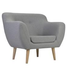 Fotel Titino to designerski, wygodny i kompaktowy mebel w stylu skandynawskim. Jest to doskonała propozycja do nowoczesnych mieszkań, restauracji, hoteli...