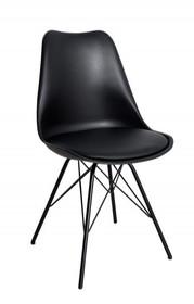Krzesło HUGO - czarny