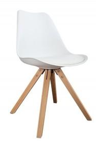 Krzesło HUGO WOOD - biały