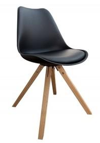 Krzesło HUGO WOOD - czarny