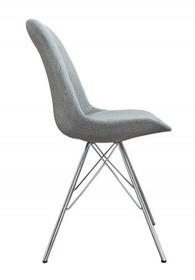 Krzesło HUGO tkanina - szary