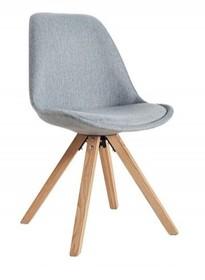 Krzesło HUGO WOOD tkanina - szary