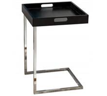 Praktyczny stolik pomocniczy. Kwadratowy blat stolika jest zdejmowany dzięki czemu zyskuje na mobilności.<br />Waga netto 1 szt.: 3kg<br />Waga...