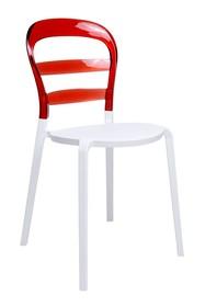 Krzesło CARMEN - czerwony