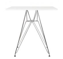 Stół DSR SQUARE 80x80 - biały