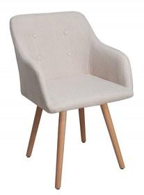 Krzesło SCANDINAVIA - beżowy
