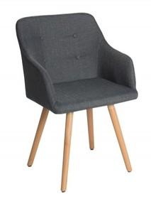 Krzesło SCANDINAVIA - grafitowy