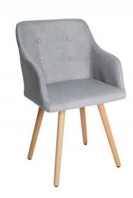 Krzesło SCANDINAVIA - jasnoszary