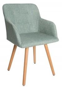 Krzesło SCANDINAVIA - limonka
